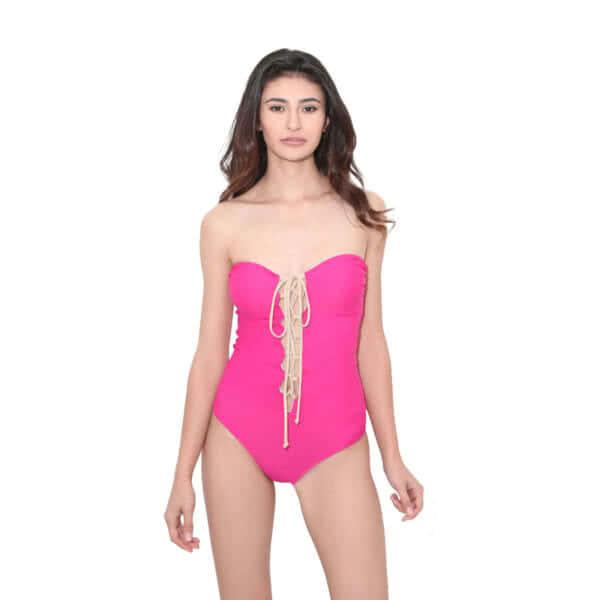 giosì beachwear Intero Costume donna fuxia outlet