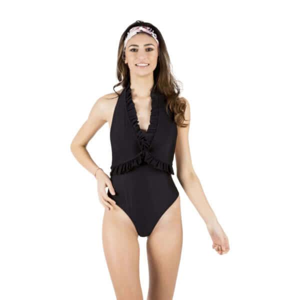 Giosì beachwear Sonia costume da bagno intero nero
