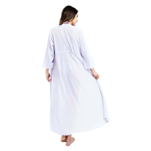 Giosi beachwear luna kimono lungo chiffon