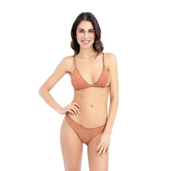 giosì beachwear Moon glitter terracotta fashion beachwear