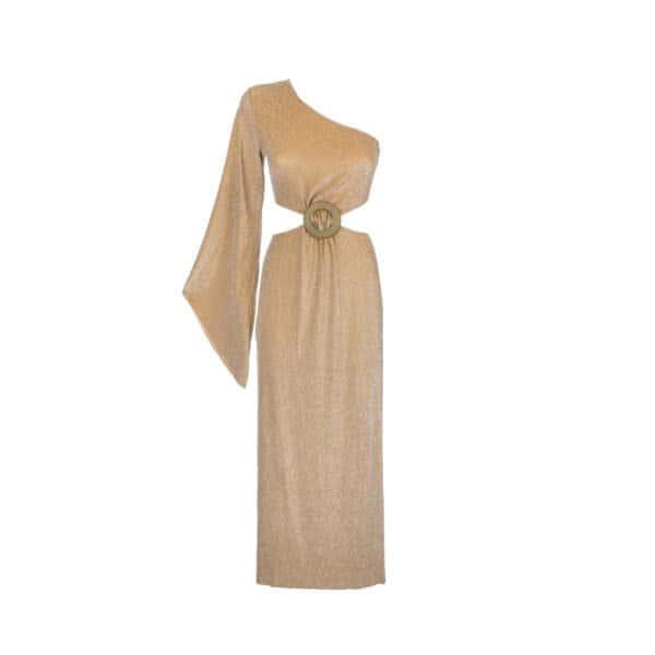 giosì beachwear musa abito da mare alta moda oro