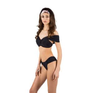 Giosi beachwear costume da bagno donna nero