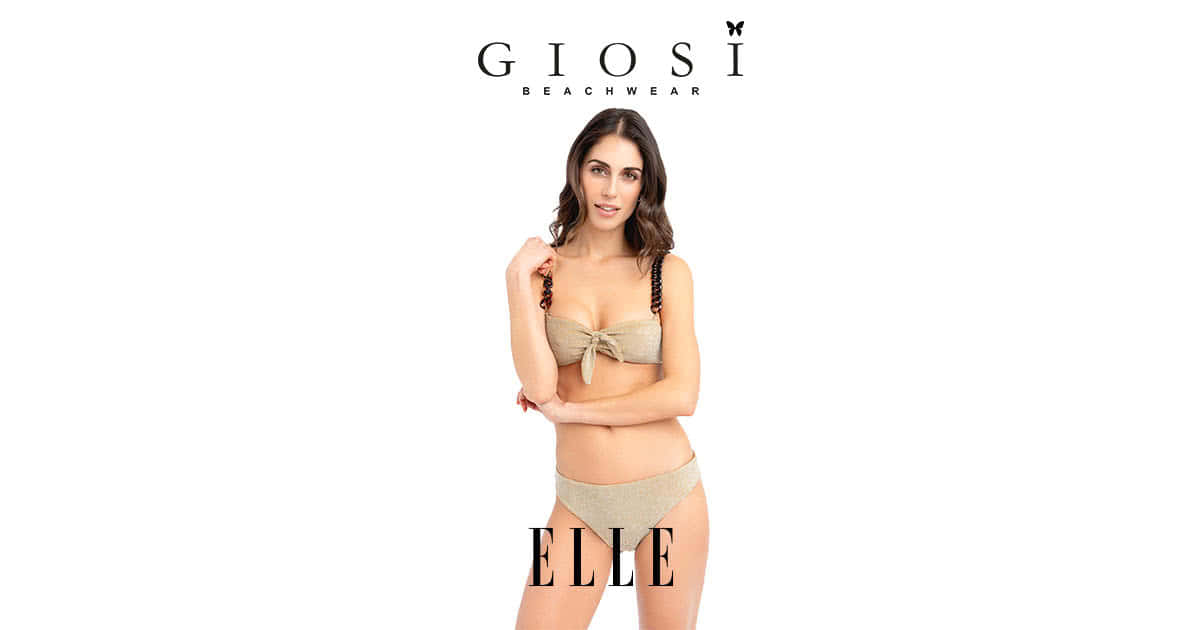 Giosì Beachwear su Elle magazine estate 2021 luxury