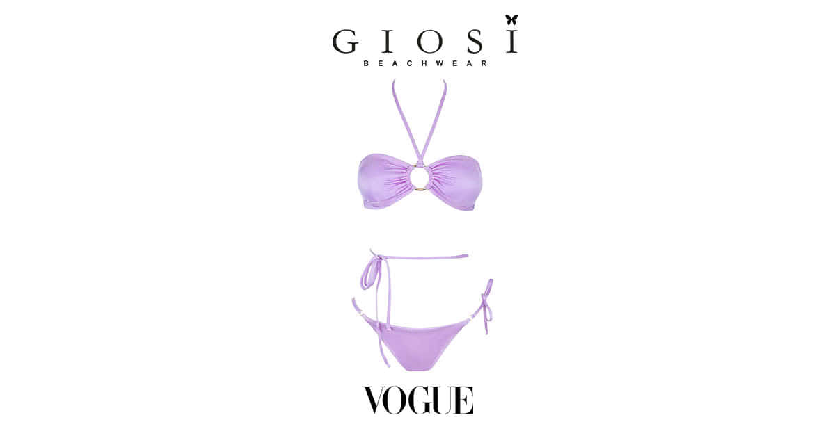 Giosì Beachwear su Vogue Estate 2021 bikini lovers