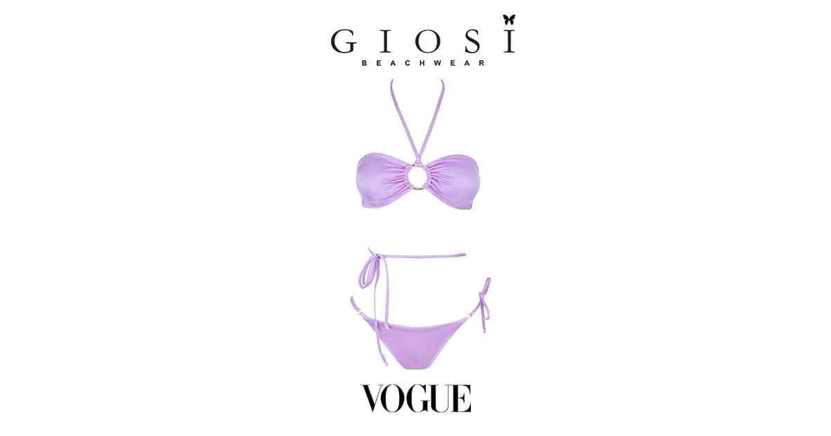 Giosì Beachwear su Vogue Estate 2021 bikini lovers