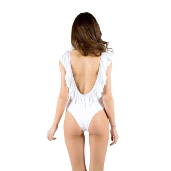 giosì beachwear Sofia costumi da bagno bianco